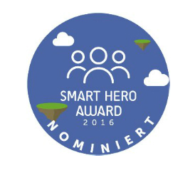 Frau, frei & war nominiert für den Smart Hero Award 2016